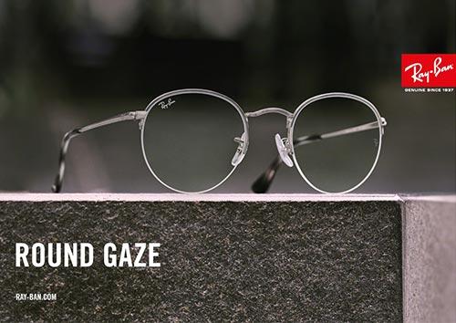 532de14e9ac076 Ray-Ban Round Gaze bril  een nieuwkomer in de familie