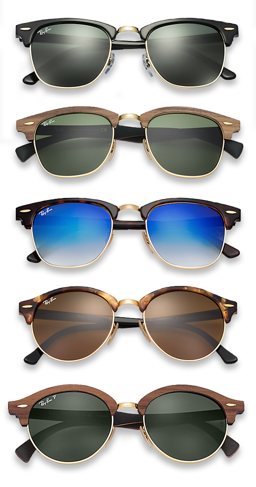 38e4027d364df3 Ray-Ban Clubmaster   Clubround zonnebril